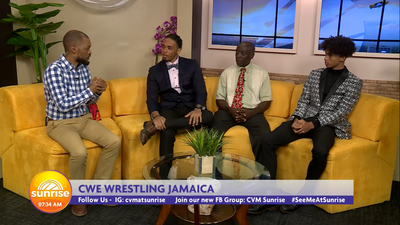 CVM AT SUNRISE – CWE WRESTLING JAMAICA – JULY 31, 2019