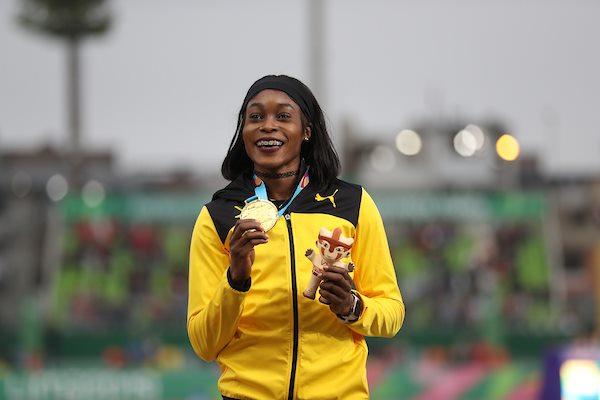 Elaine Thompson Take Gold Medal In Peru