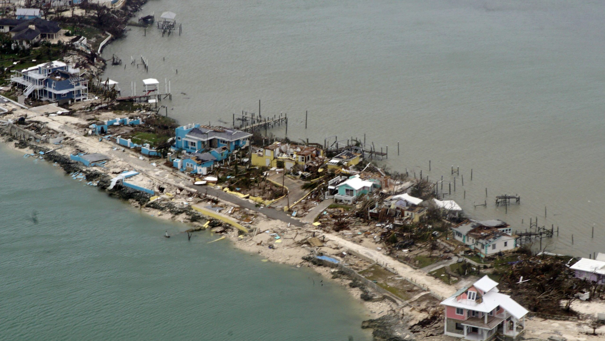 CDEMA'S ASSESSMENT OF DAMAGE IN ABACO AND GRAND BAHAMA