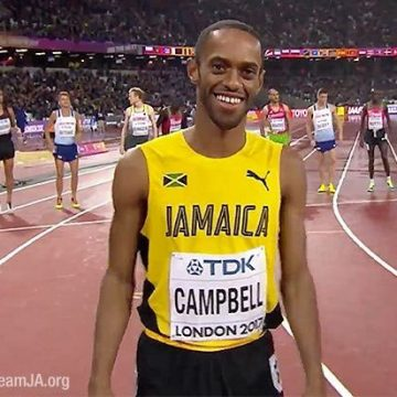 Kemoy Campbell Retires from Competitive Track and Field