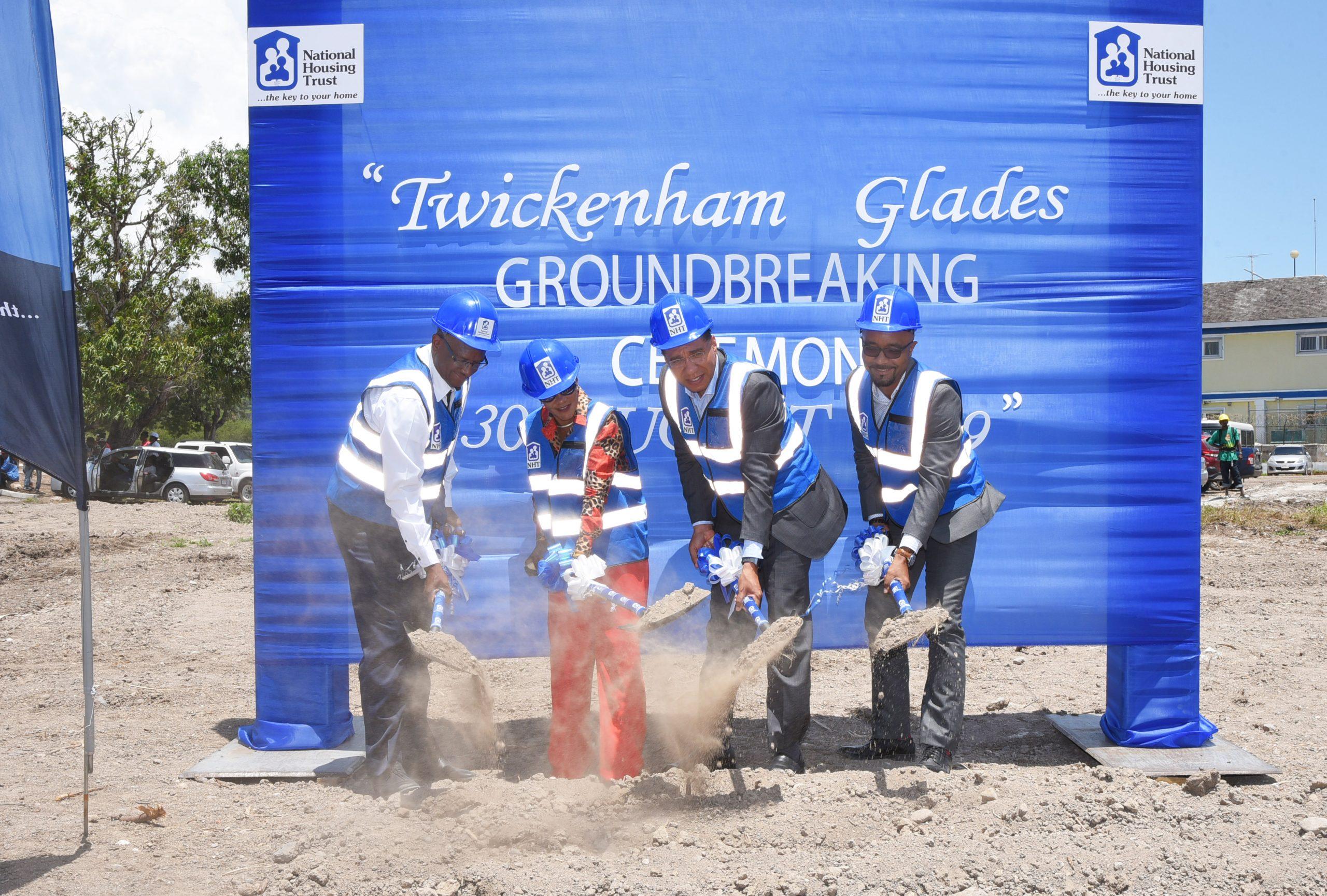Holness Breaks Ground For $1.46-billion Housing Development In St. Catherine