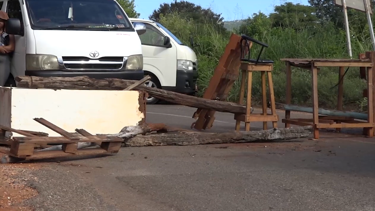 Public Operators & Residents Protest Road Condition In South Manchester