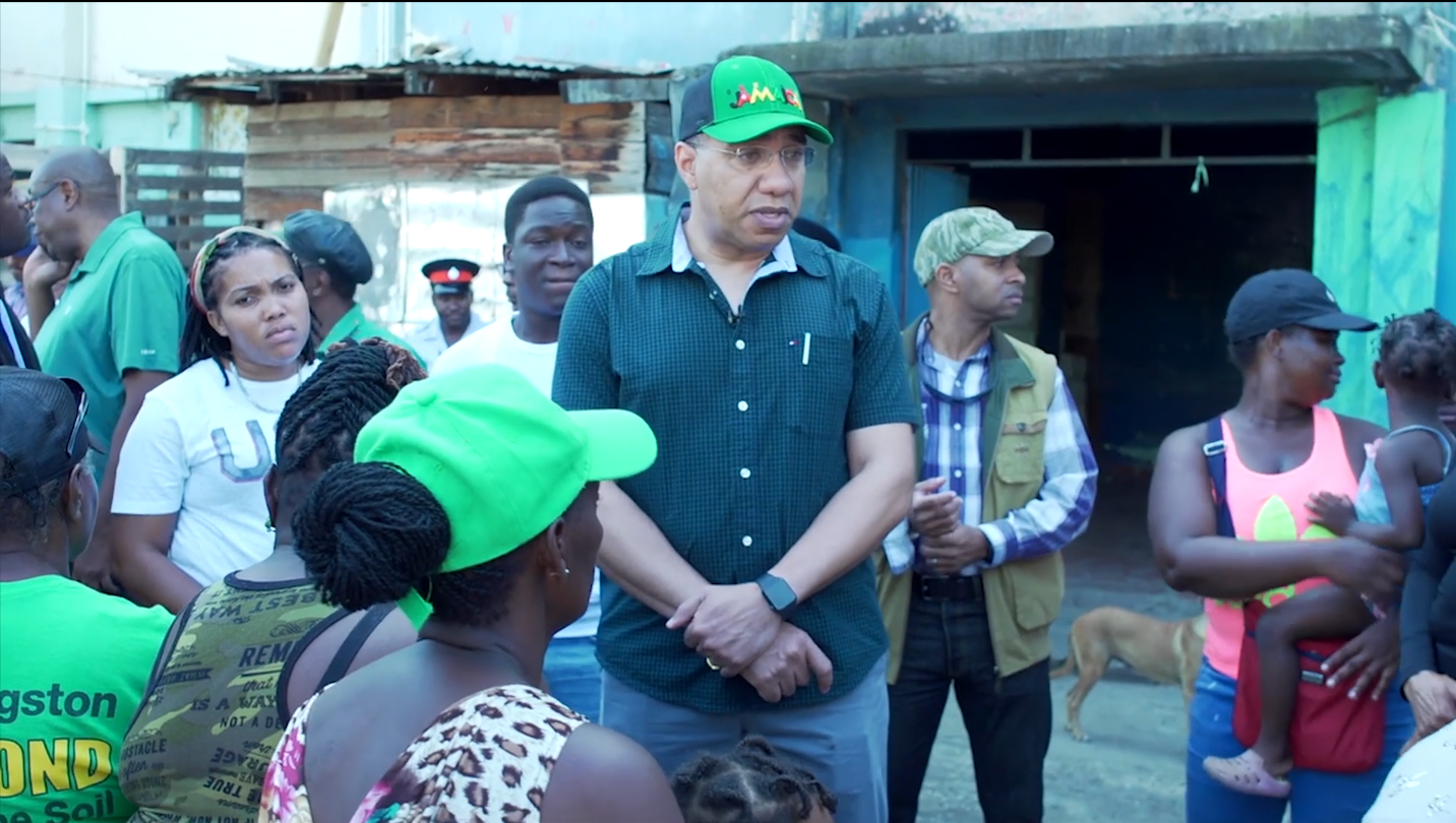 PM Holness Promises Housing Assistance To RastaCity Residents