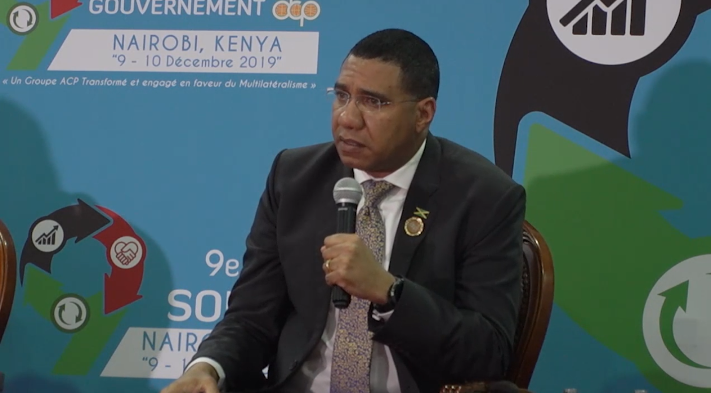 PM Tells Kenya Crowd To Invest In Jamaica