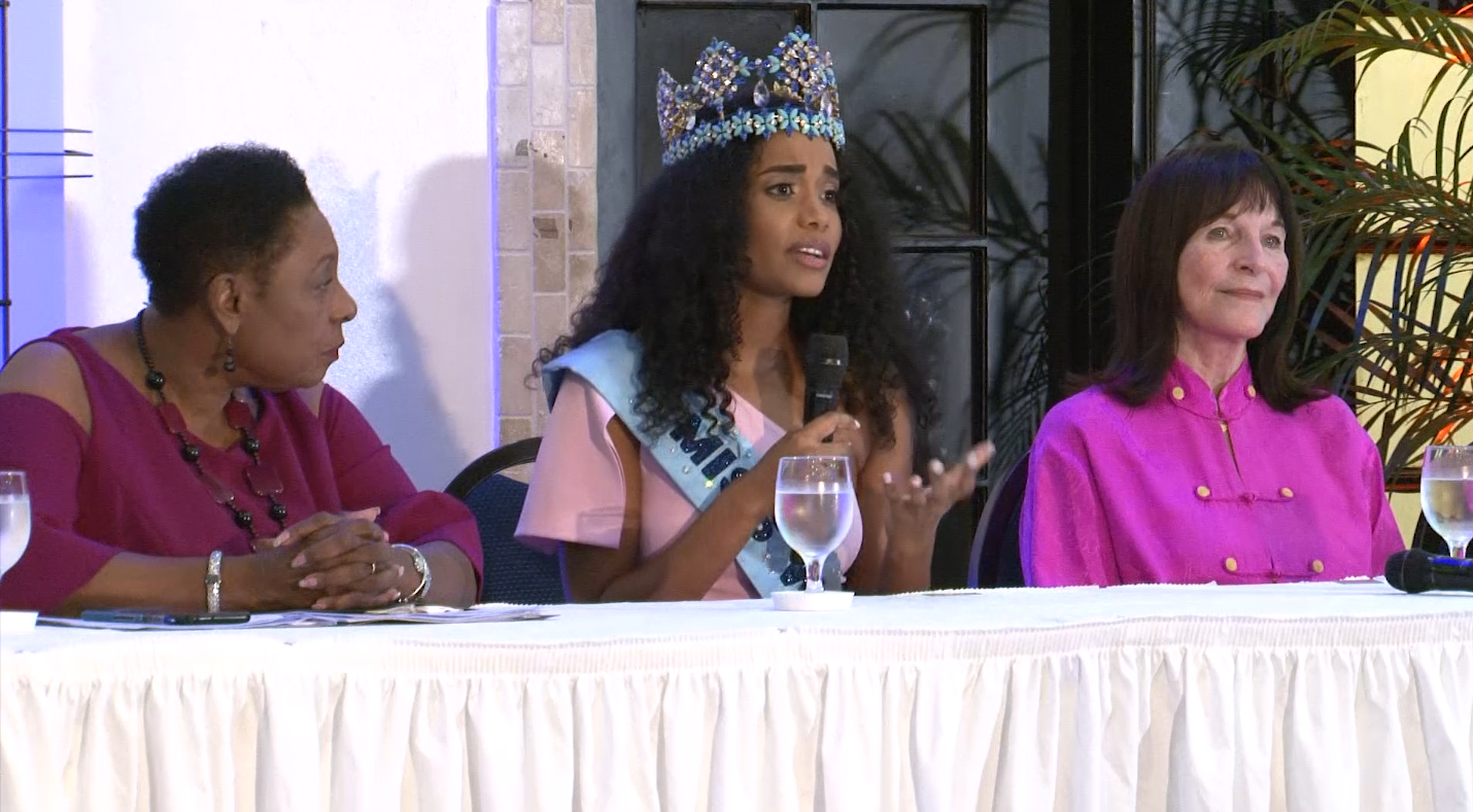 Miss World 2019 Toni-Ann Singh Receives A Queen's Welcome In Jamaica