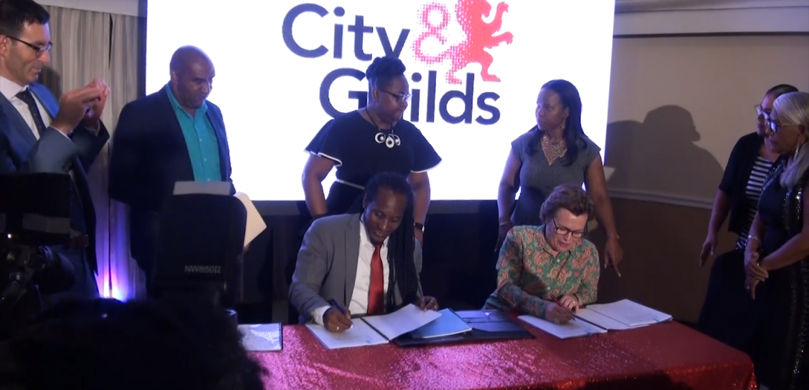 Landmark MOU Signing With MOE And City And Guilds