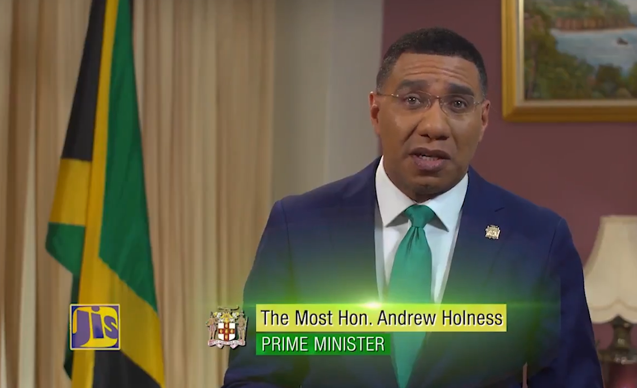 PM Holness Confident Of A Clear 2020 Vision
