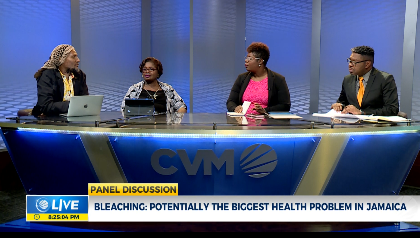 Is skin bleaching potentially the biggest health problem in Jamaica?