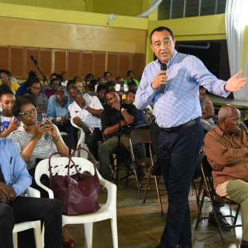 Health Minister Assures Residents Of Vineyard Town