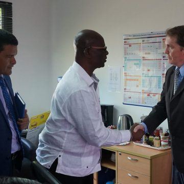 Minister Mckenzie Commends Us Support In Disaster And Humanitarian Response