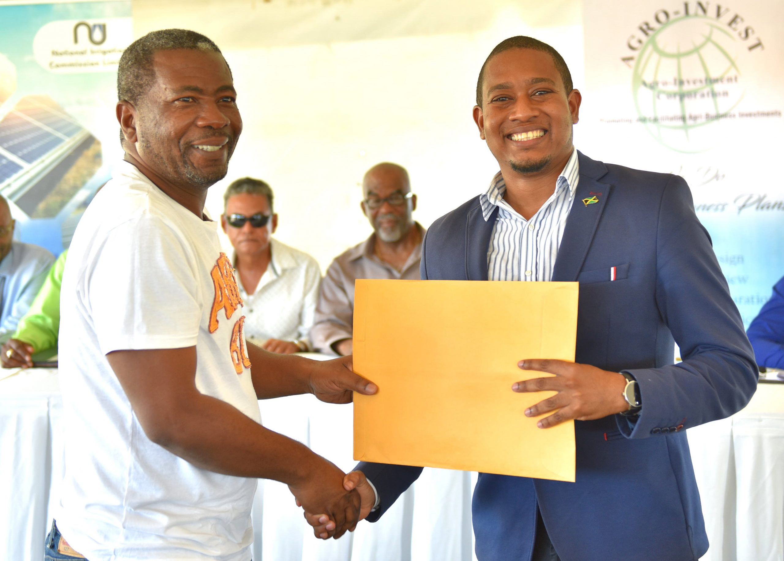 Leases Handed Over To Former Workers At Monymusk  Sugar Factory