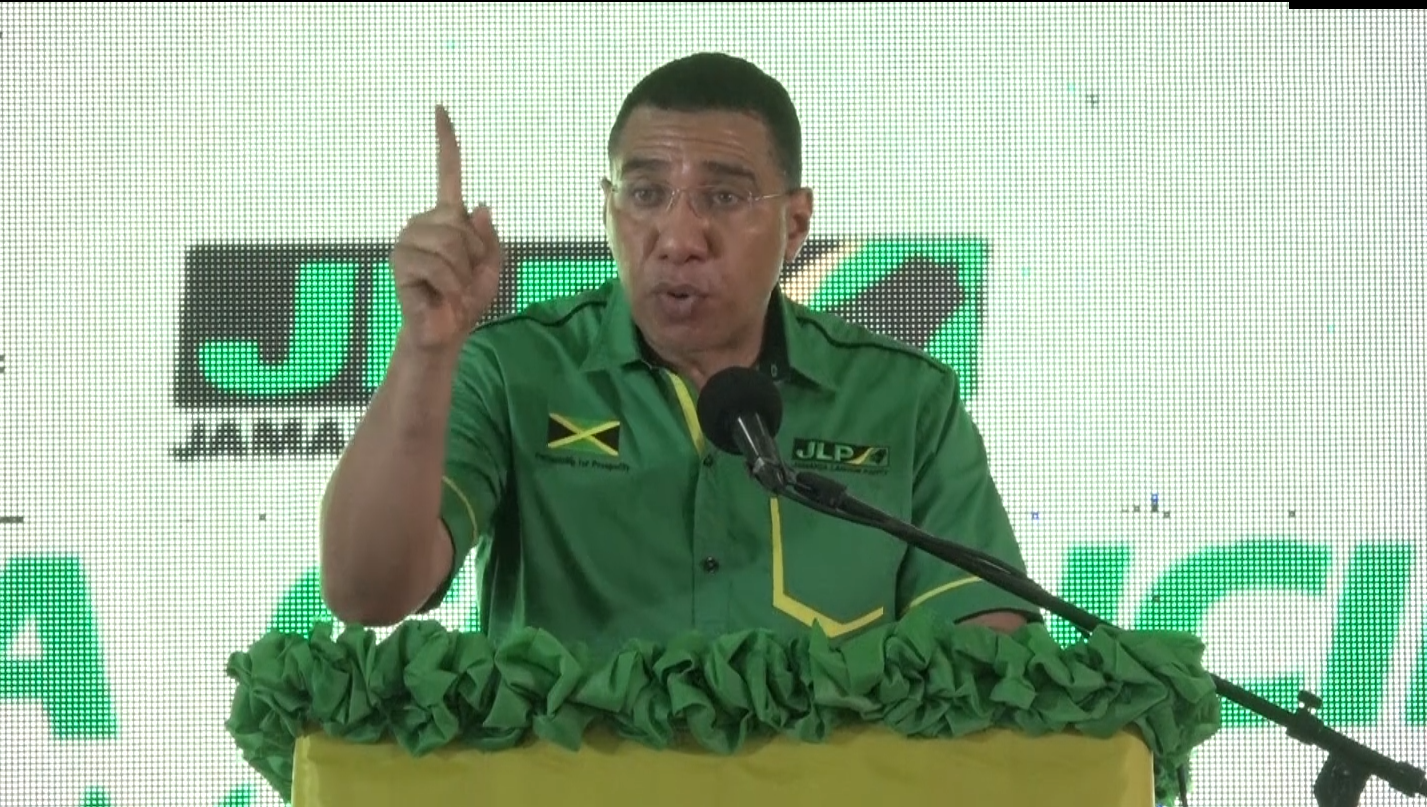 """PM Holness Lashes Out Against The Spread Of""""Fake News"""""""