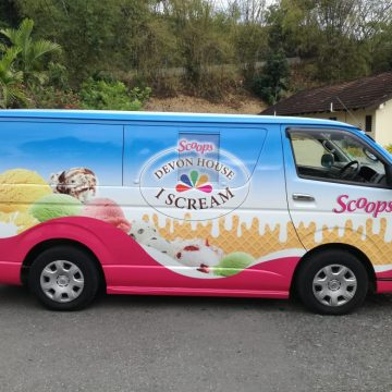 Devon House Ice Cream Van And Y.A.R.D. Empire