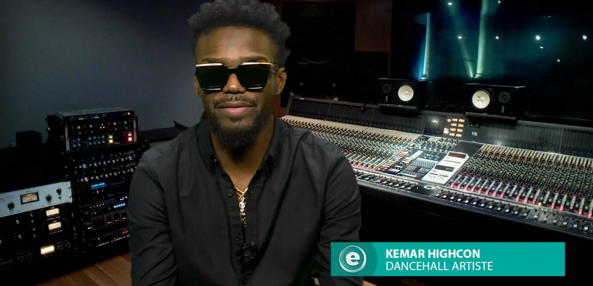 Kemar Highcon On E-Live
