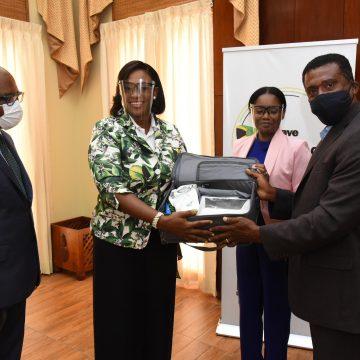 Health Ministry Receives Donation Of Ventilators