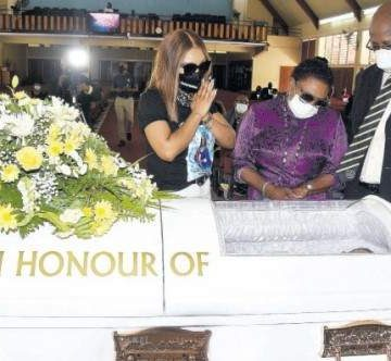 Thanksgiving Service For Jodian Fearon Held