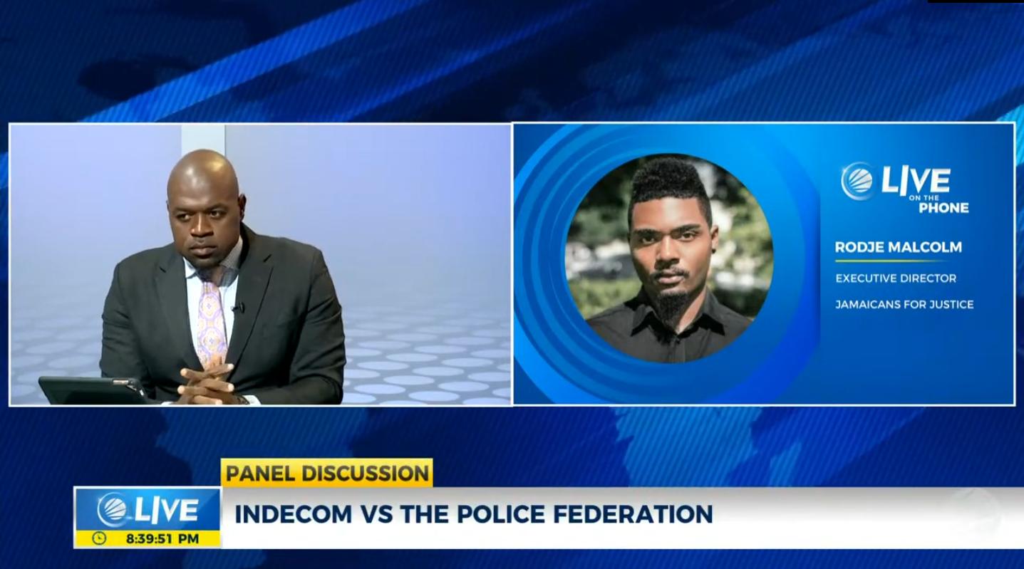 Jamaica: INDECOM VS Police Federation