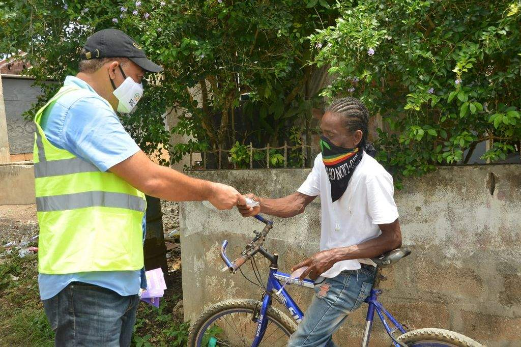 MOH Brings COVID-19 Sensitization To Bottom Town Trelawny