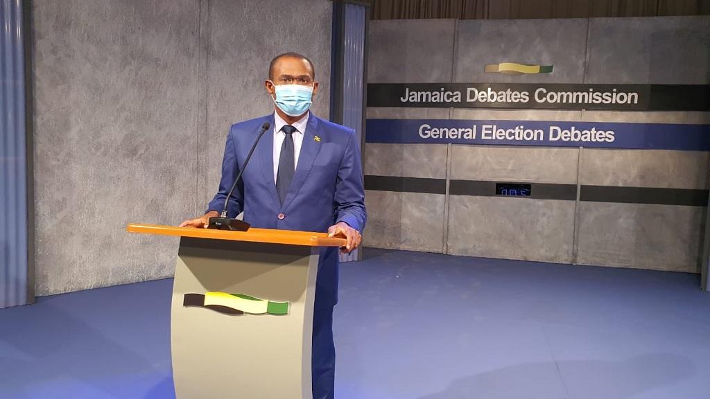 Election 2020: Dr. Nigel Clarke vs. Mark Golding Finance Debate Highlights