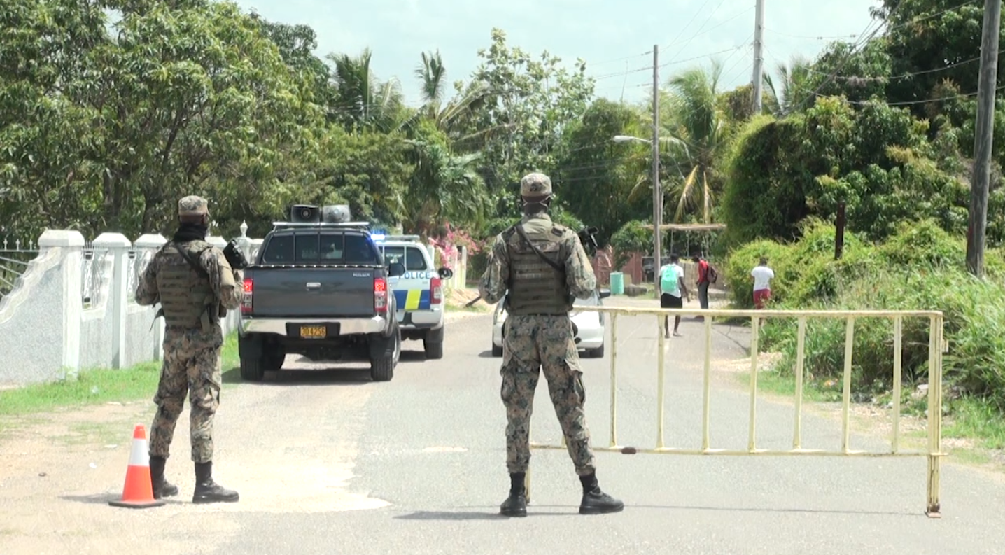 Sandy Bay in Clarendon Becomes Community in Lockdown