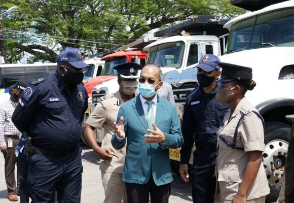 JCF Specialized Operations Branch Gets First Ministerial Visit