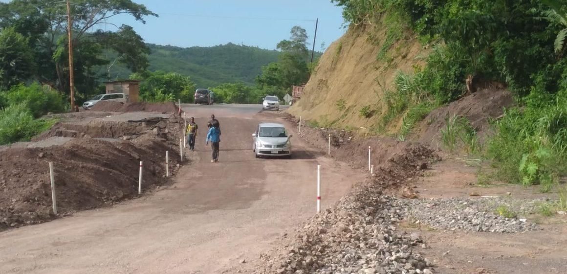Junction Road Reopens to Public after Major Breakaway