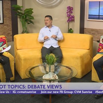 Hot Topics: Representatives from JLP & PNP debate their views