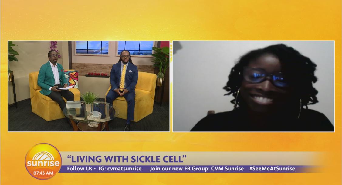 CVM At Sunrise: Daniella White Is A Sickle cell Warrior