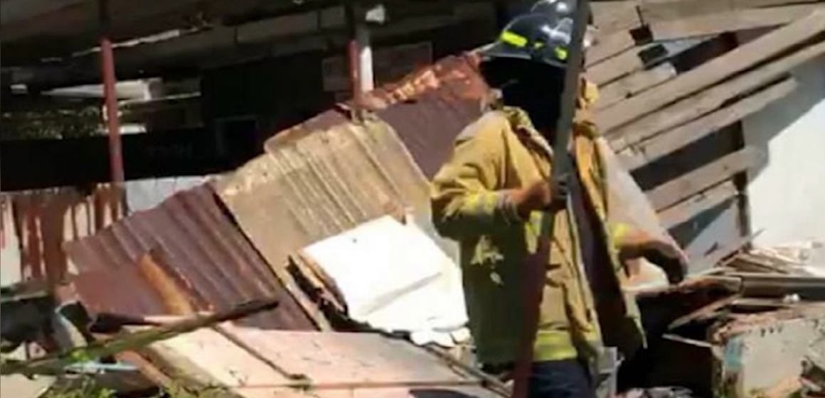 Dilapidated Building Collapses On Man In East Kingston