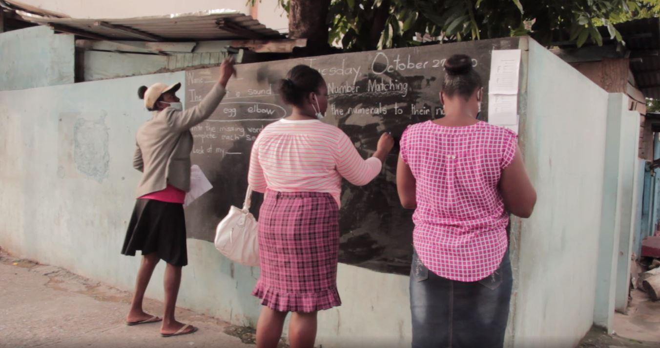 Jamaica: Community Blackboard Initiative Gone Viral