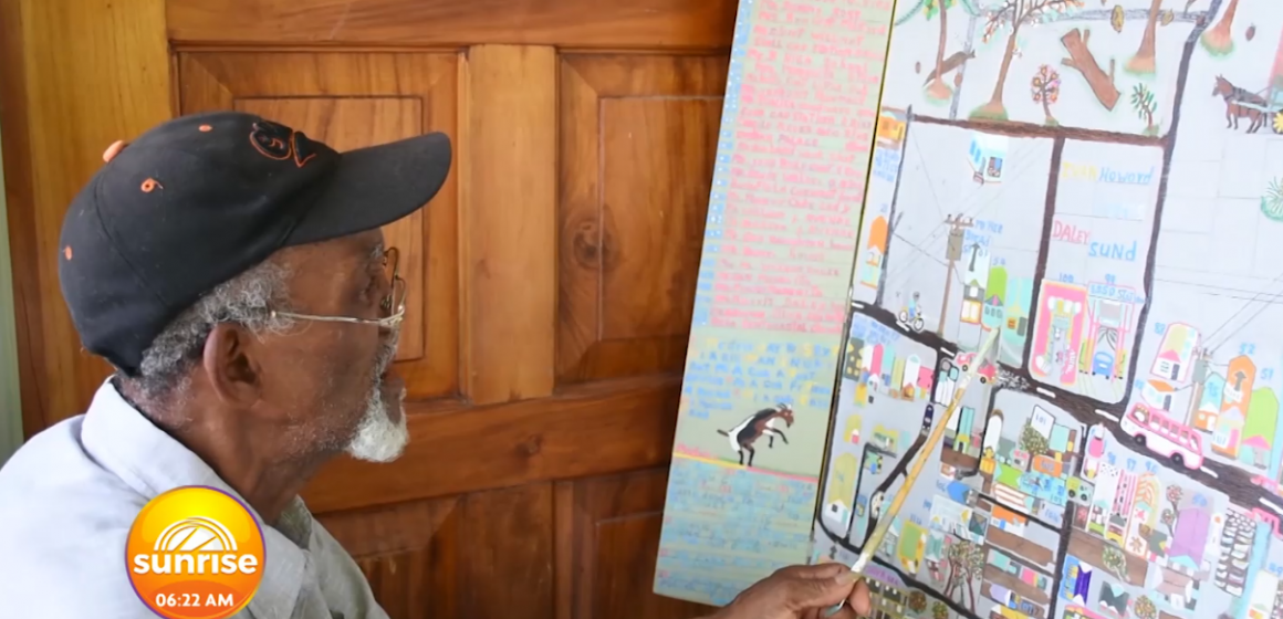 78 Year Old Paints The Entire Ochi Rios