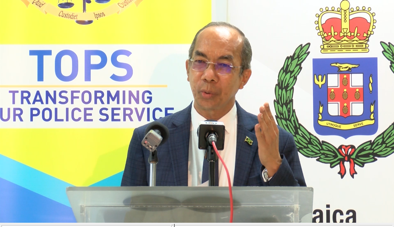 Minister Chang: Government Moves To Strengthen the JCF