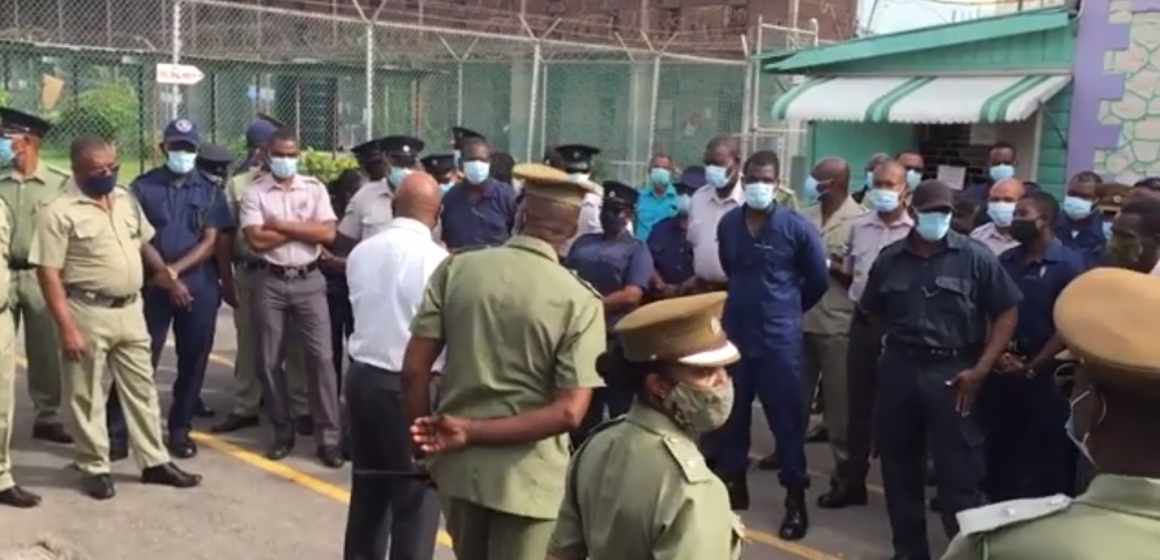 St. Catherine Adult Correctional Centre Raided By Security Team