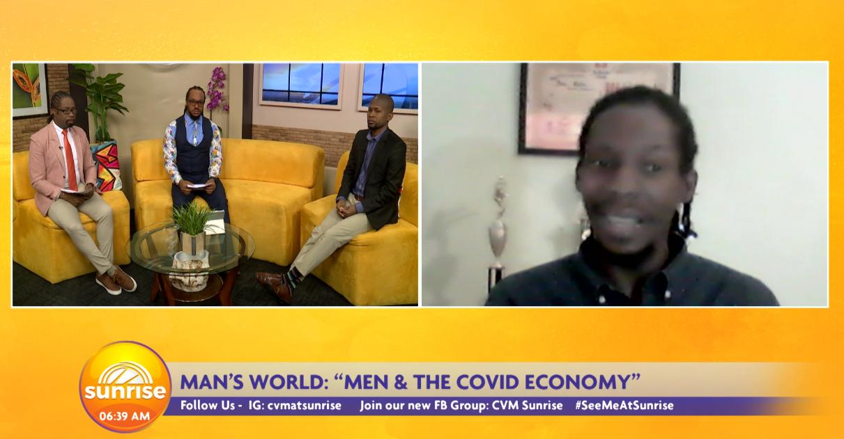 Men And The Covid Economy