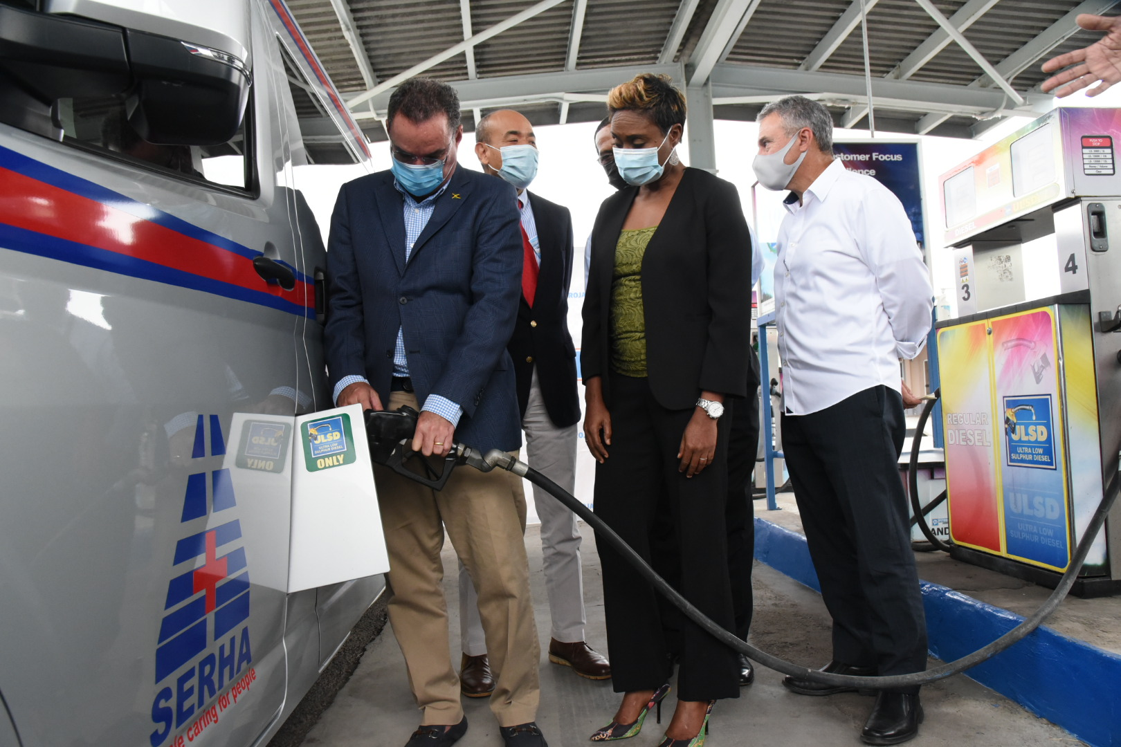 Petrojam Donates Fuel Worth Thousands To Aid COVID Fight