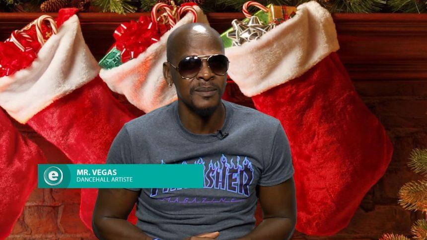 """Jamaica's Mr. Vegas Talks """"Last Christmas"""""""