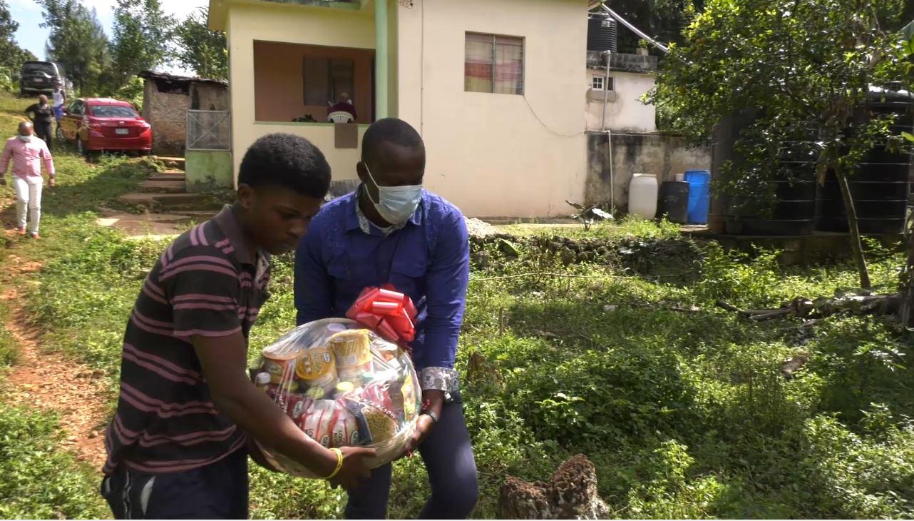 Inspire Jamaica's Gift of Giving: The Allen Twins