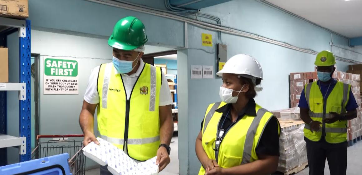 Dr. Tufton: Vaccination Storage Facilities Are Prepared