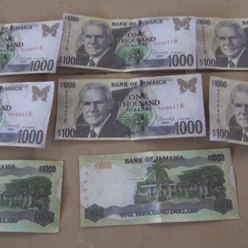 Jamaica: Look Out For Counterfeit Notes!
