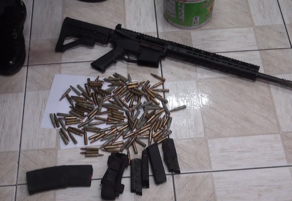 Massive Weapon Stash At Two Churches in Rockfort, Kingston
