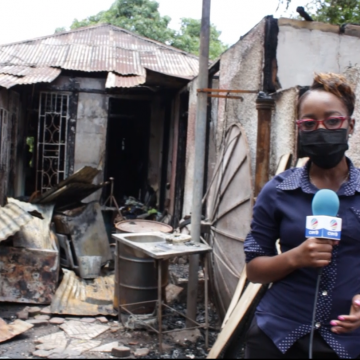 Family Of 11 Now Homeless After Fire Razed Their Dwelling