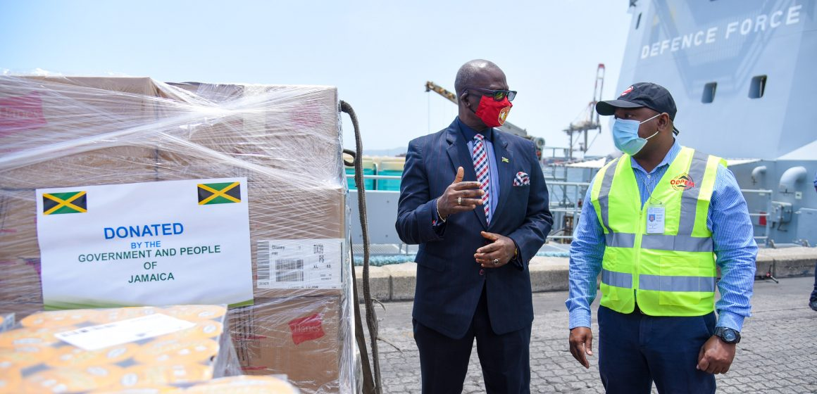 Jamaica's Support To St. Vincent And The Grenadines Ongoing