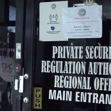 Private Security Regulations Authority Act To Be Amended