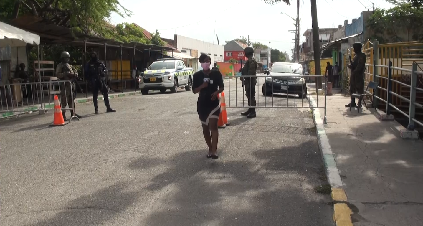 Residents React to 72 Hour Curfew in Central Kingston