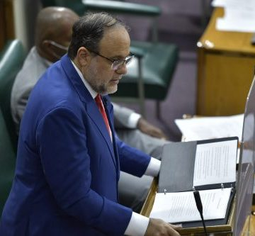 Wright Causes Seating Stir in Parliament