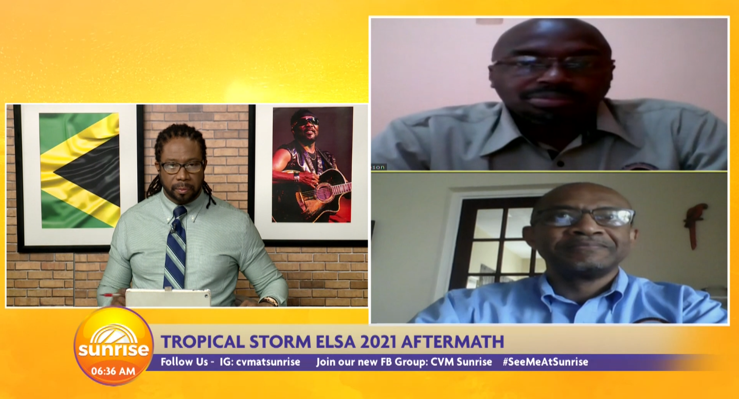 Tropical Storm 2021: Elsa Aftermath in Jamaica