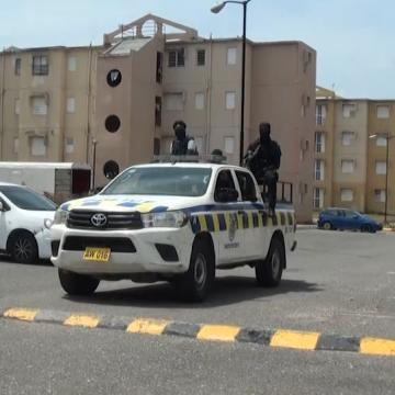 4 Men Taken Into Custody And Gun Seized In Denham Town