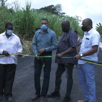 New Gaul Road in St. Mary Officially Opened