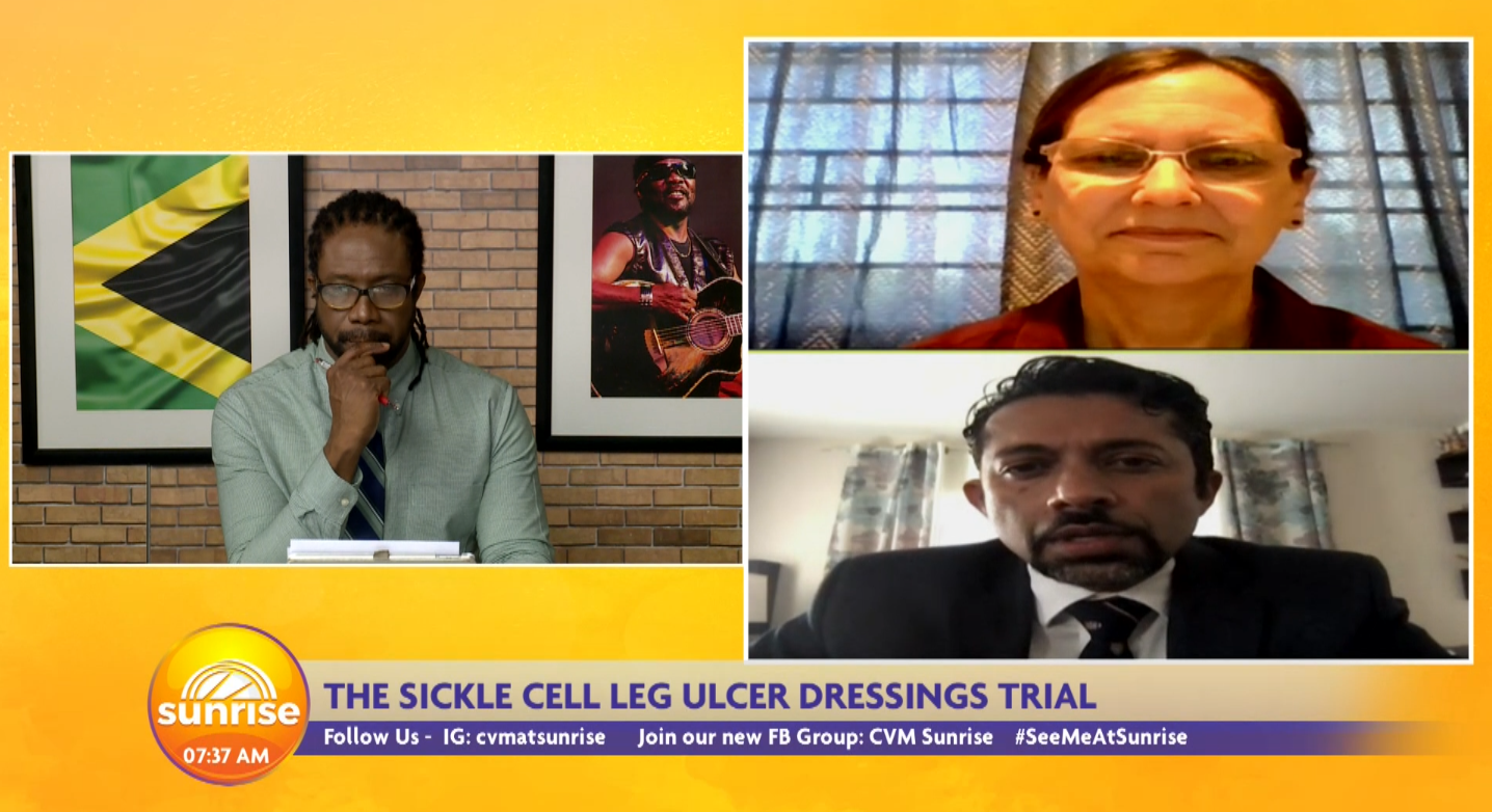 The Sickle Cell Leg Ulcer Dressings Trial