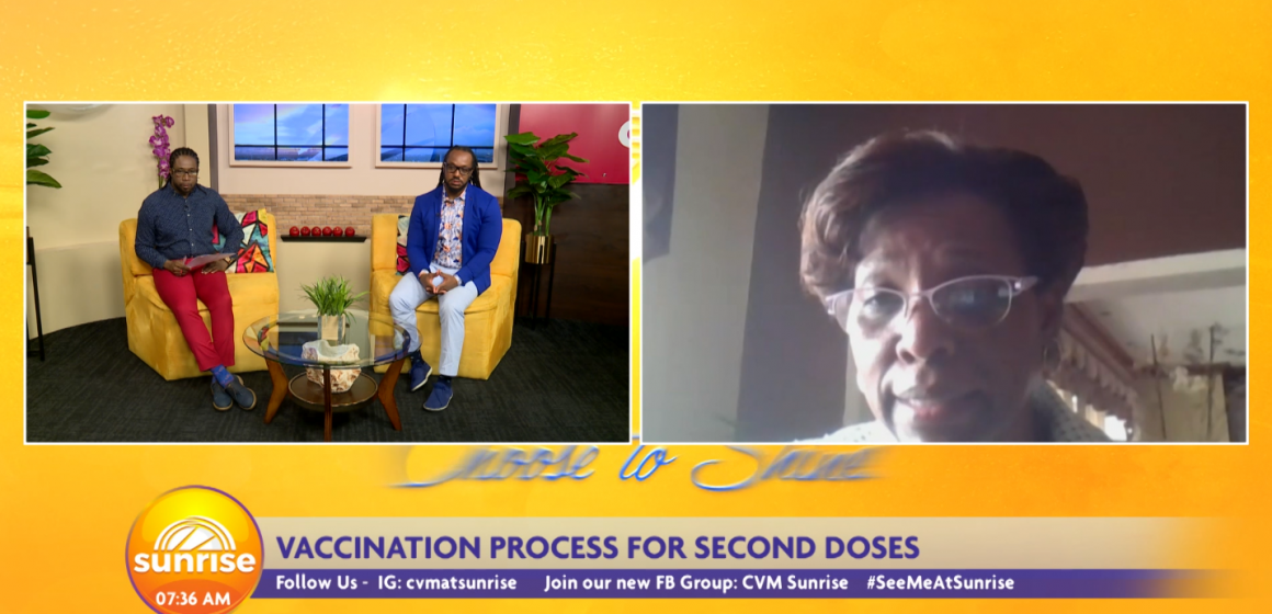 Ja: Vaccination Process for the Second Dose